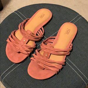 Flat ugg sandals